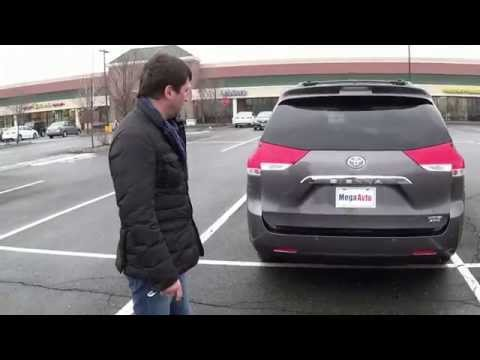 Новые машины из Америки (США), Toyota Sienna, Мега авто.