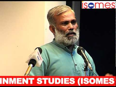 GUEST LECTURERS AT ISOMES:  Mr  Arvind Gaur - Well Known Theatre Personality