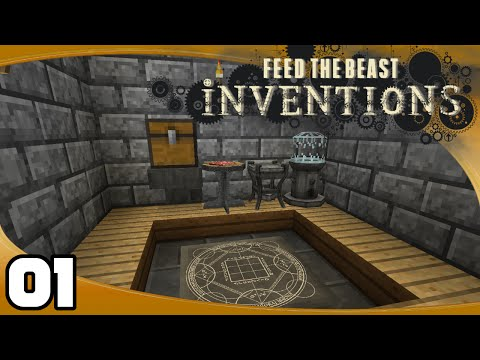 FTB Inventions - Ep. 1: Equivalent Exchange 3! | FTB Inventions Minecraft Modpack