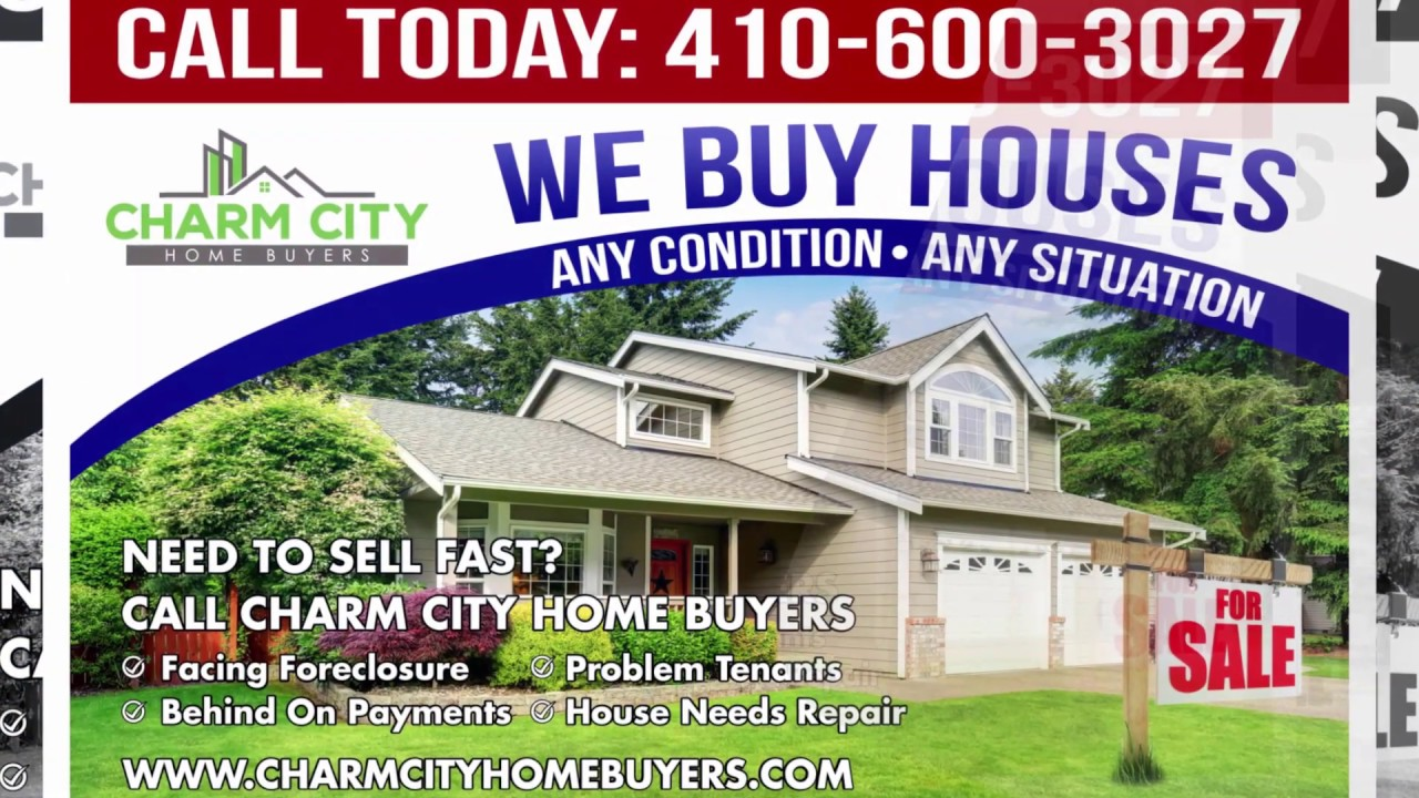 Charm City Home Buyers- WE BUY HOUSES- CASH! 410-420-2014