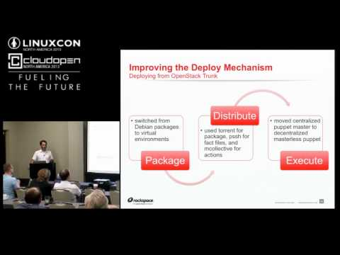 Building the Rackspace Open Cloud with XenServer and OpenStack -Paul Voccio, Rackspace