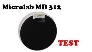 Microlab MD 312 test głosnika bluetooth