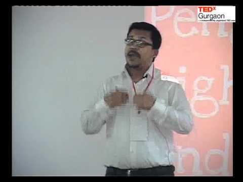 TEDxGurgaon - Abhinandan Chatterjee - Penguins, Light Bulb and a Beer Belly