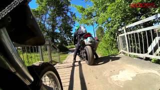 Поездка на мотоциклах по маршруту Москва-Ярославль-Тутаев-Москва(Быстрое видео, буквально на прокрутке, с поездки в Ярославскую область на мотоциклах BMW F650GS и Honda CBR 929 Fireblade..., 2014-07-16T05:00:26.000Z)