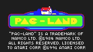 Atari Lynx Longplay [35] Pac-Land