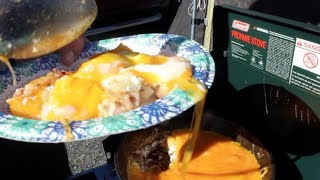 Mountain Man Breakfast, Best Breakfast for Camping! (Camp Cooking)