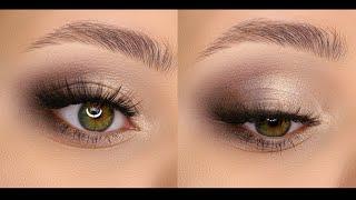 Как строить форму классического макияжа в карандашной технике для любой формы глаз