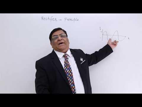 Rectifier-Principle