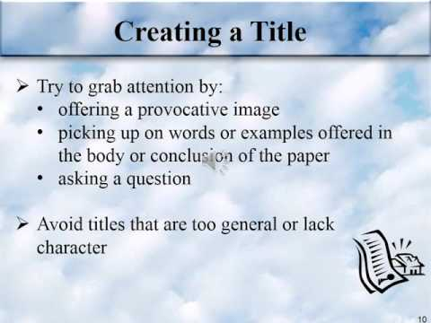 Argument Essay PowerPoint