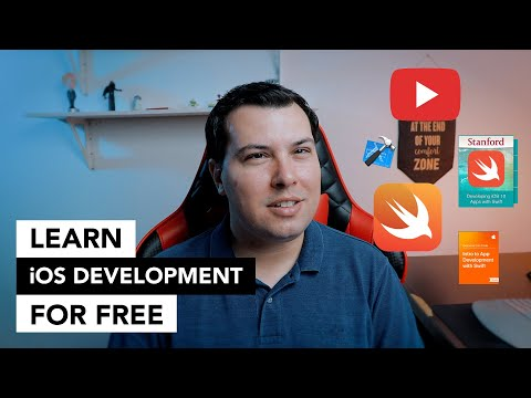 Learn iOS Development FOR FREE - Best courses and tutorials thumbnail