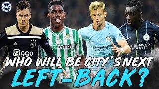 HOW TO SOLVE MAN CITY'S LEFT-BACK PROBLEMS? | 2019/2020