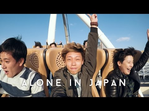 PLAYING AT UNIVERSAL STUDIOS JAPAN | Alone in Japan | EP 03