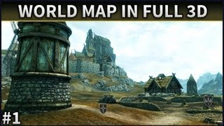 Skyrim Mod Spotlight | #1 | World Map In Full 3D