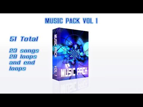 Music Pack Royalty Free 51 sounds for content creators