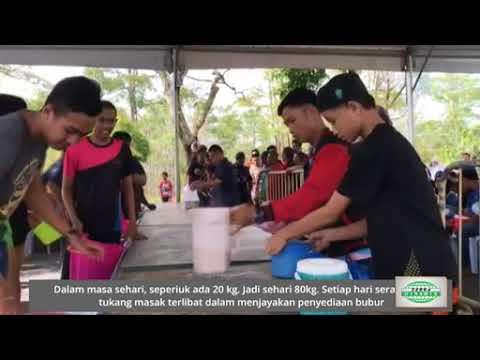 Bubur lambuk Masjid Jamek jadi pilihan warga Kuching