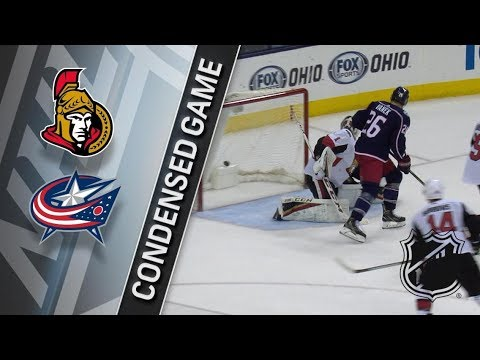 Ottawa Senators vs Columbus Blue Jackets – Mar. 17, 2018 | Game Highlights | NHL 2017/18. Обзор