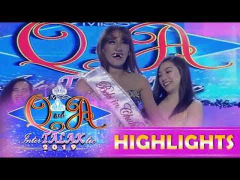 It's Showtime Miss Q and A: Jasmine Sangel Montemayor wins the Beks in ChukChak award