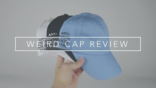 Anti Social Social Club | Weird Cap Replica Review