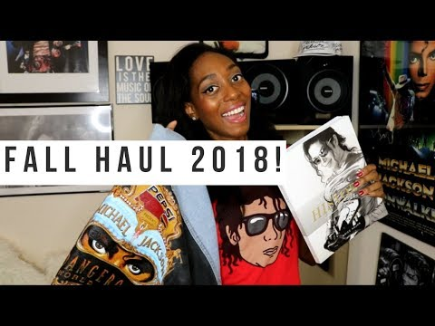 Michael Jackson Merchandise Haul (NO MUSIC) - Fall 2018