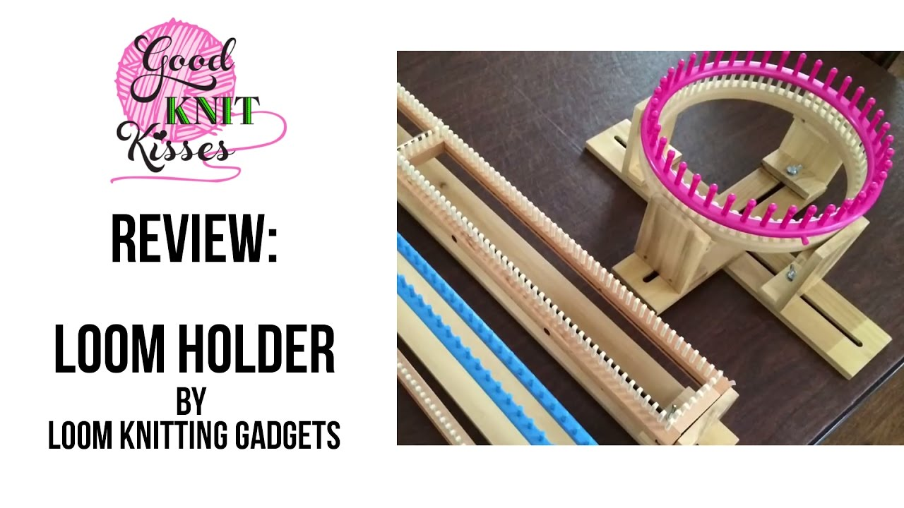 Loom Holders by Loom Knitting Gadgets (Discontinued item)