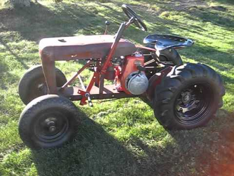 Small garden tractors vintage or antique you