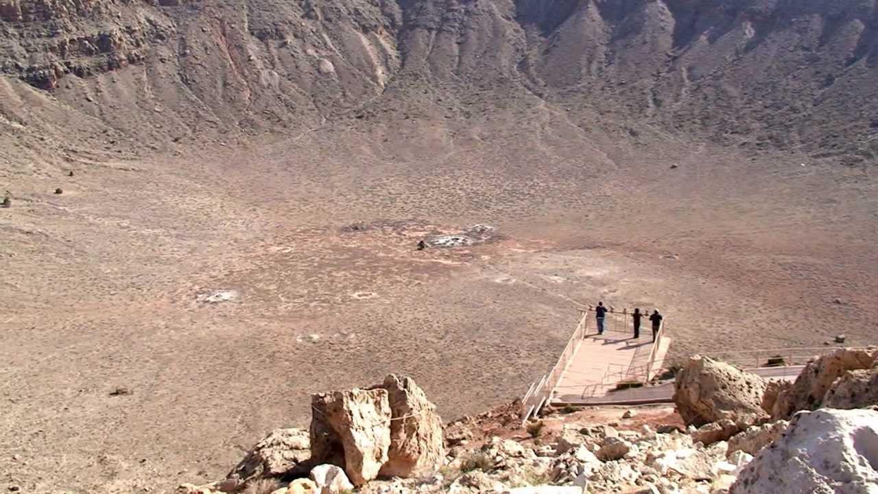 Us Route 66 >> Meteor Crater, Winslow Arizona - YouTube