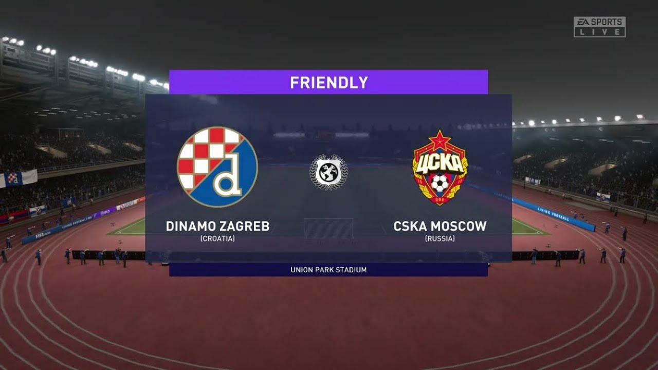 Fifa 21 Dinamo Zagreb Vs Cska Moscow Europa League Prediction Youtube