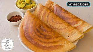 Instant Wheat Dosa Recipe
