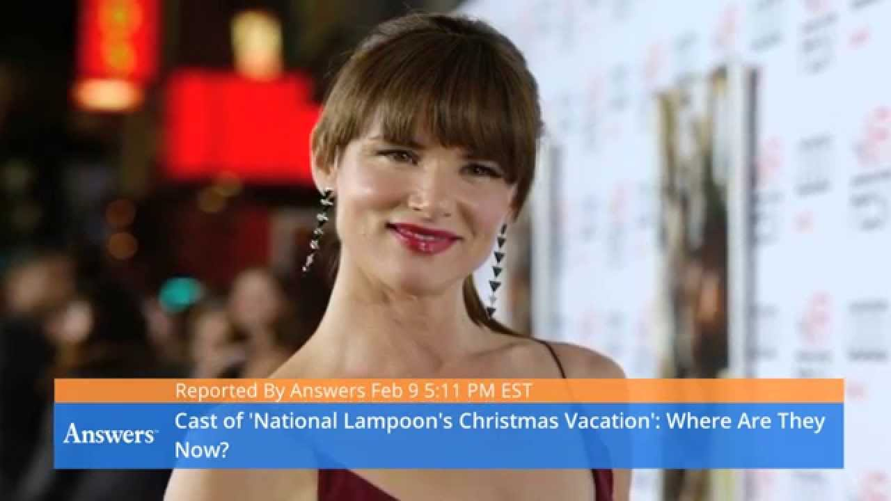 the cast of national lampoons christmas vacation where are they now - Cast Of National Lampoon Christmas Vacation