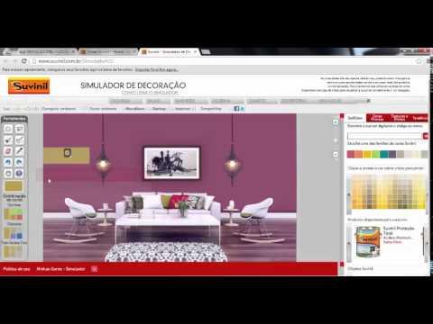 Simulador de tintas suvinil simule as cores da sua casa for Simulador de casas 3d gratis