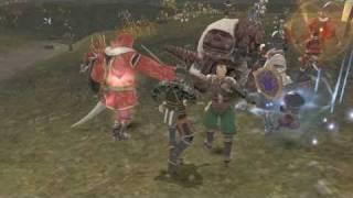 FFXI 75 Samurai and warrior gameplay