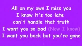 Naughty Boy - Should've Been Me (Lyrics Video)