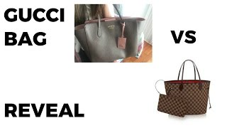 NEW GUCCI BAG REVEAL | Gucci Vs Louis Vuitton Neverfull
