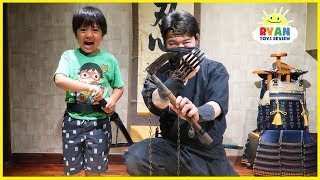 Ninja School for Ryan!  How to become a Ninja!!!