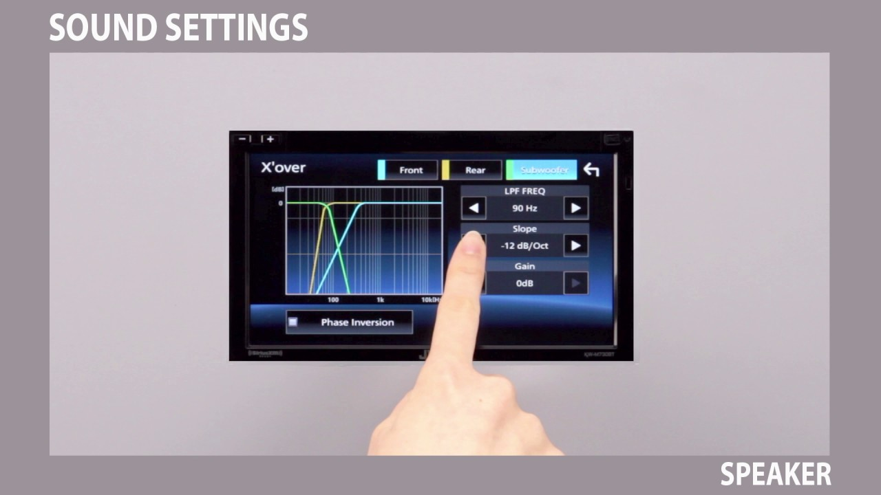 JVC Sound Settings for Multimedia Receivers