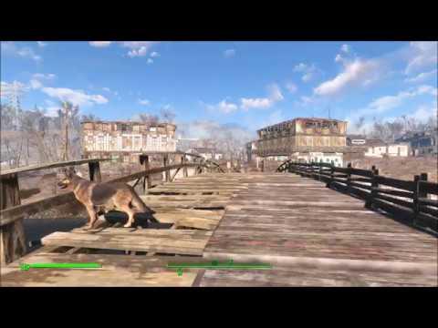 Fallout 4 Repair Sanctuary Bridge No Mods Or Dlc Youtube