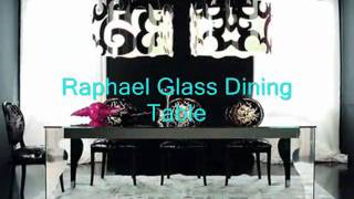Raphael Glass Dining Table