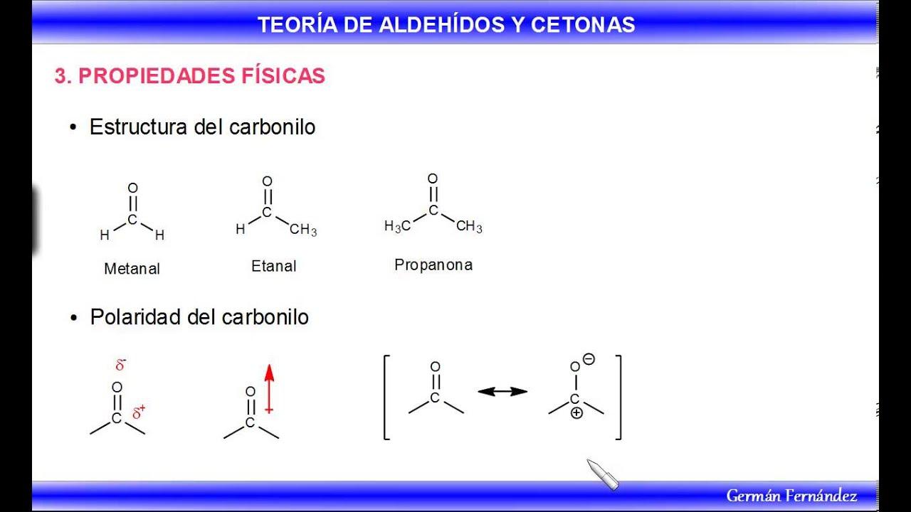 Aldeh dos y cetonas propiedades f sicas youtube for Marmol caracteristicas y usos