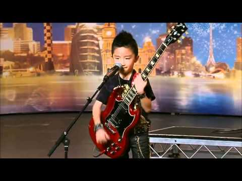 Jeremy Yong - Australia's Got Talent 2012