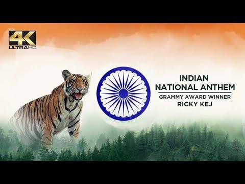 National Anthem of India - Best 4K WildLife Video - Grammy® Award Winner Ricky Kej | Ricky Kej Songs