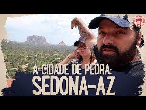 CHEGAMOS A SEDONA/ARIZONA - CIDADE DAS PEDRAS VERMELHAS