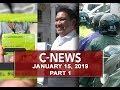UNTV: C-News (January 15, 2019) PART 1