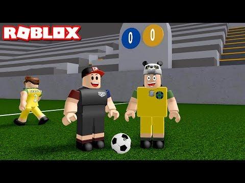 En Çok Gol Atan Kazanır! Futbol Zamanı - Panda Ile Roblox Kick Off
