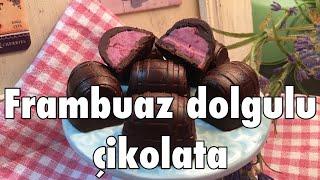 Frambuaz dolgulu çikolata - Pratik dolgulu çikolata tarifi