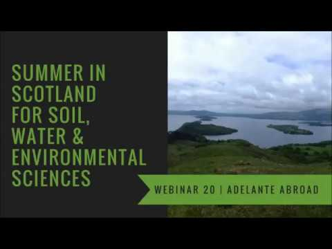 Ecology and Conservation Study Abroad in Scotland - Adelante Abroad