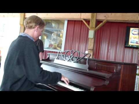Frederick Hodges 7.HAPPY DAYS ARE HERE AGAIN|Central PA Ragtime Festival|July 21. 2012|street Piano