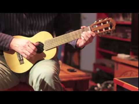 Blues on a Guitalele (6 string ukulele or small guitar)