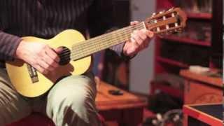 Blues on a Guitalele (6 string ukulele or small guitar)
