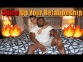 HOW TO SPICE UP YOUR RELATIONSHIP // TIPS FOR A SEXY DATE NIGHT IN