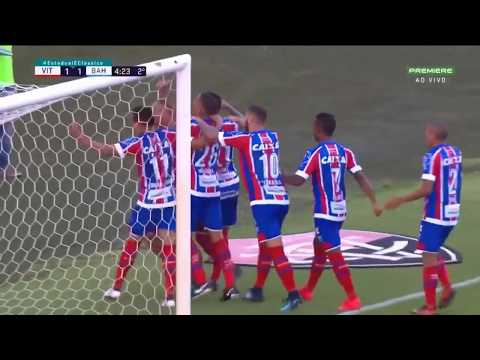 10 red cards Brazil football match abandoned Vitoria Vs Bahia